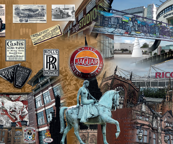 Large collage of Coventry